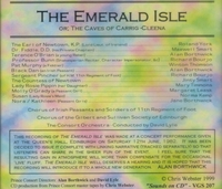 The Emerald Isle    (Gilbert & Sullivan)    (David Lyle;  York, Smart, Borthwick, Bourjo)    (2-VGS 207)