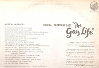 The Gay Life       (Capitol SWAO 1560)        Original Broadway cast LP