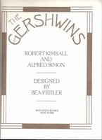The Gershwins     (Kimball &  Simon)     (0-517-165945)