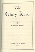 The Glory Road                (Lawrence Tibbett)           0-405-09711-5