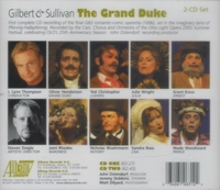 The Grand Duke   (Gilbert & Sullivan)  (Beatty, Simmonds, Rhodes, Wright, Henderson, Christopher)  (2-Albany 631/32)
