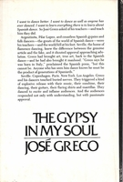The Gypsy in my Soul  -  Jose Greco    ( 0-385-11504-0)