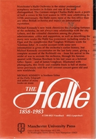 The Halle, 1858-1983   (Michael Kennedy)    (0 7190-0921 9)