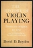 The History of Violin Playing    (Boyden)    0-193-16315-2