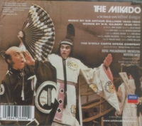 The Mikado (Gilbert & Sullivan) (D'Oyly Carte; Nash; Ayldon, Wright, Reed, Sandford, Masterson, Jones) (2-Decca 473 644)