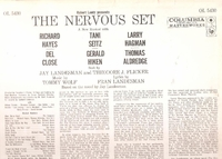 The Nervous Set    (Columbia OL 5430)   Original Broadway cast LP