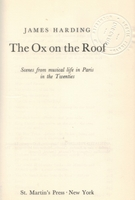 The Ox on the Roof - Honegger, Milhaud, Auric, Poulenc, Tailleferre, Durey    (James Harding)