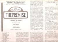 The Premise   (Vanguard VRS 9092)    Original Off-Broadway cast LP