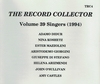 The Record Collector - 1994        (TRC 4)
