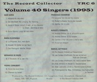 The Record Collector - 1995       (TRC 6)