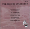The Record Collector - 2013    (TRC 40)