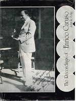 The Recordings of Enrico Caruso       (John R. Bolig)