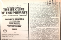 The Sex Life of the Primate and Other Bits of Gossip    (V-15043)