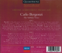 The Sublime Voice of Carlo Bergonzi     (2-Decca 467 1858)