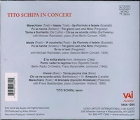 Tito Schipa  -  Live Performances, 1939-59  (VAI 1280)