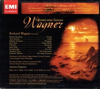 Tristan   (Pappano; Domingo, Stemme, Pape, Bostridge)   (3-EMI 58006)