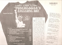 Tuscaloosa's Calling Me  (Vanguard VSD-79376) Off-Broadway cast LP