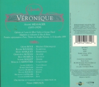 Veronique   (Messager)  (Dervaux;  Boue, Moizan, Bourdin)    (2-Accord 465 864)