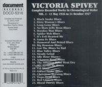 Victoria Spivey       (Document DOCD-5316)