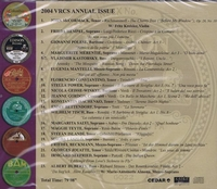 Vocal Record Collectors' Society - 2004 Issue   (VRCS 2004)