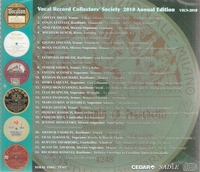 Vocal Record Collectors' Society - 2010 Issue         (VRCS 2010)