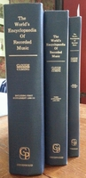 The World's Encyclopedia of Recorded Music  [WERM]  (3 Vols.)   (Clough & Cuming)   0837130034