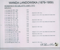 Wanda Landowska, Vol. I     (St Laurent Studio YSL 78-069)