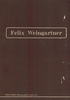 Weingartner, Recollections, etc.   (Dyment)  0-902070-17-7