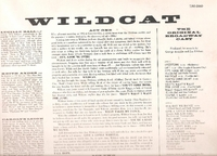 Wildcat   (Lucille Ball)   (RCA LSO-1060)    Original Broadway cast LP