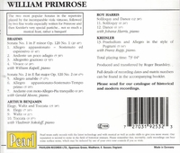 William Primrose     (Pearl 9253)