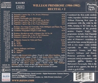 William Primrose, Vol. II;   Marian Anderson     (Naxos 8.111383)