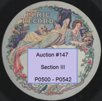 Wind 78rpm records Nos. P0500 - P0542