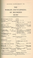 The World's Encyclopedia of Recorded Music - WERM, Vol. II     (Clough & Cuming)