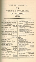 The World's Encyclopedia of Recorded Music - WERM, Vol. III      (Clough & Cuming)