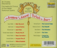 Yeomen of the Guard;  Trial by Jury (Gilbert & Sullivan) (Mackerras; Maynard, Evans, Banks, Rhys-Davies) (2-Telarc 80404)