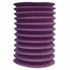 6inch Cylinder Accordion Paper Lantern Plum