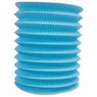 6inch Cylinder Accordion Paper Lantern Powder blue
