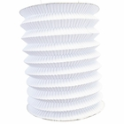 6inch Cylinder Accordion Paper Lantern White