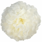 "CLEARANCE 8"" Tissue Paper Pom Pom Flower Ball Eggshell"