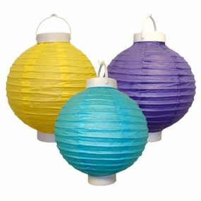 Battery Operated Paper Lanterns