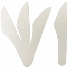 Biodegradable Paper Cutlery Utensil Blank Knife 12pcs