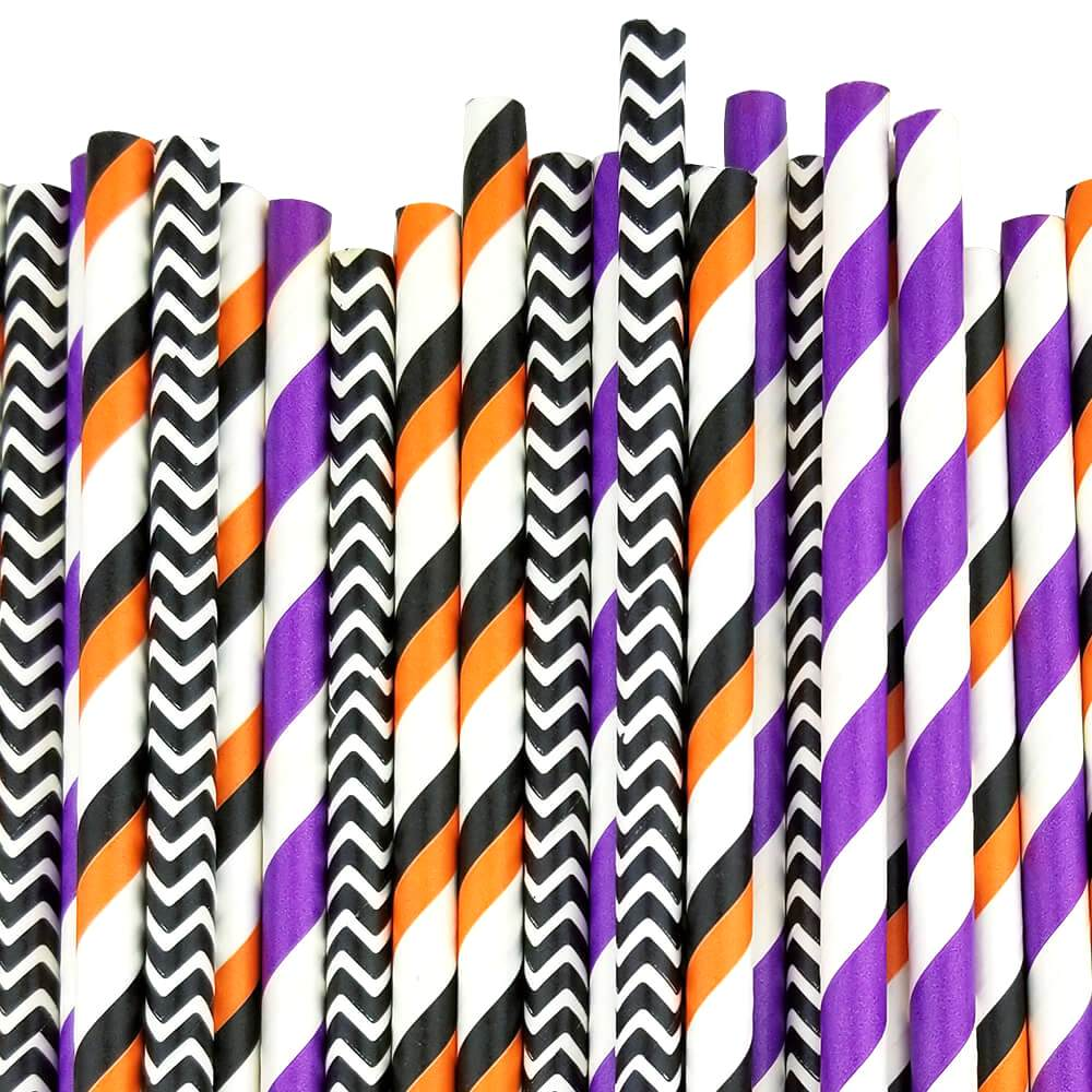 BOO-tiful Paper Straw Decorating Kit