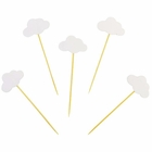 Cake Topper Kit White Clouds 5pcs