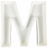Ceramic Letter Dish 5.5in M
