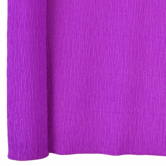 Crepe Paper Roll 20in Mulberry