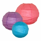 Criss Cross Paper Lanterns