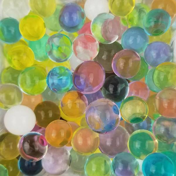 CLEARANCE Decorative Floral Water Beads Assorted Colors