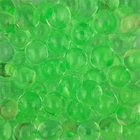 Decorative Floral Water Beads Green