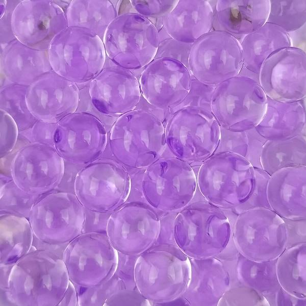 Decorative Floral Water Beads Purple