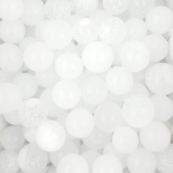 Decorative Floral Water Beads White